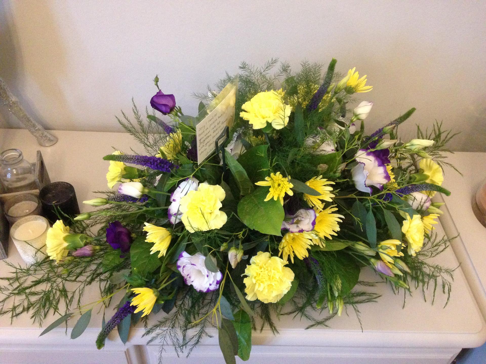 Casket Flowers 6