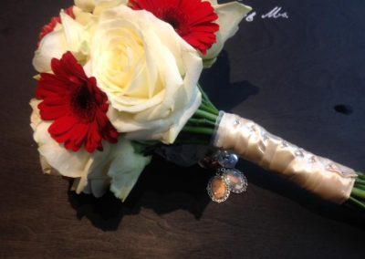 bridal bouquet flower shed