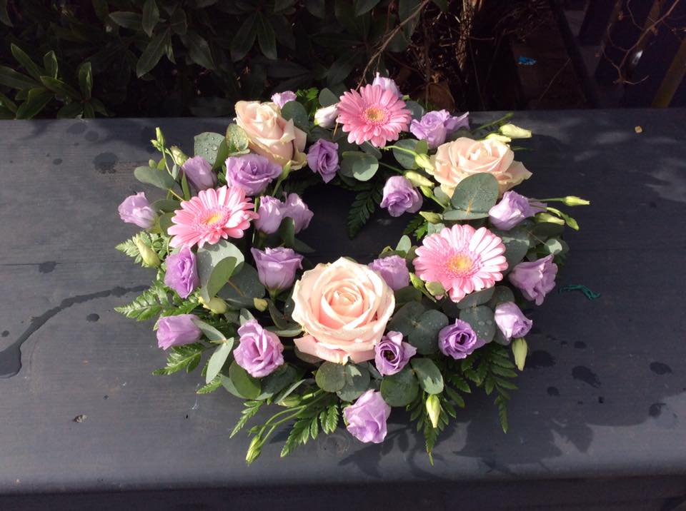 Lilac and Pink Colourings