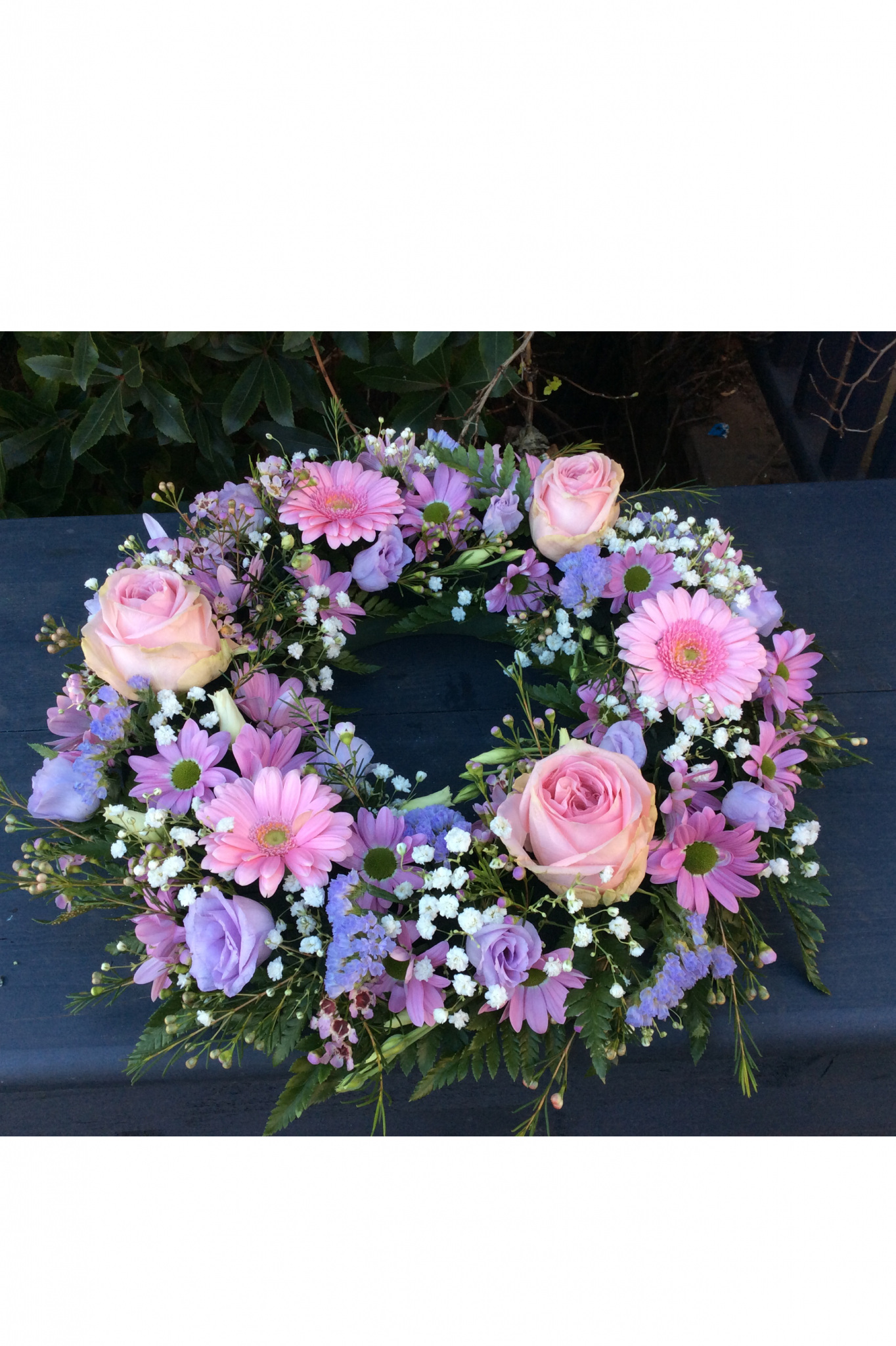 Purple and Pink Wreath