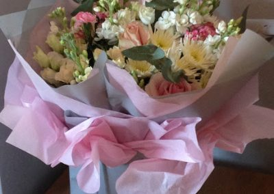 Flowershed Bouquet Pastel Pinks