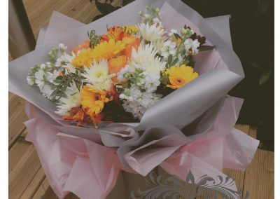 Flowershed Bouquet Yellows and Oranges
