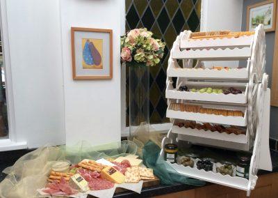 Savory Wheel and Cheese Board
